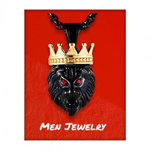 King Lion of Judah (Eyes Red w/ Wine)