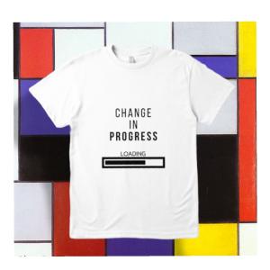 Change In Progress T-Shirt (White)