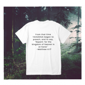 Repent Today T-shirt (white)