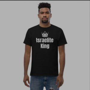 """Israelite King"" Classic Men's Heavyweight Tee by CovenantGear™"