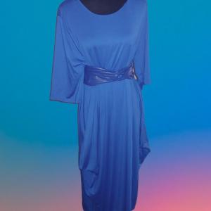 Bubble Dress w/ Belt